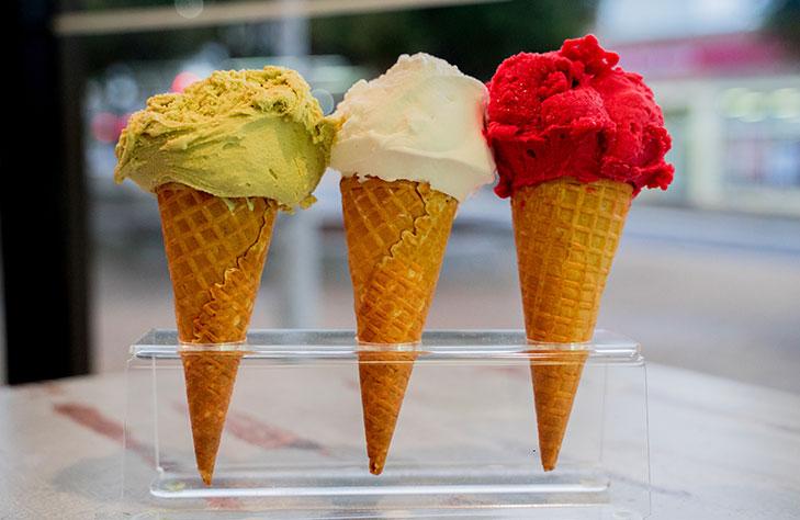 Artisanal gelato
